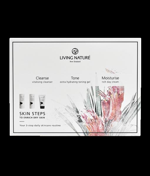 Living_Nature-Skin_Steps-For_Dry_Skin